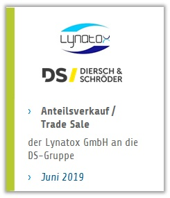 Bremer Unternehmensgruppe Diersch & Schröder übernimmt Anteile An Der Lynatox GmbH
